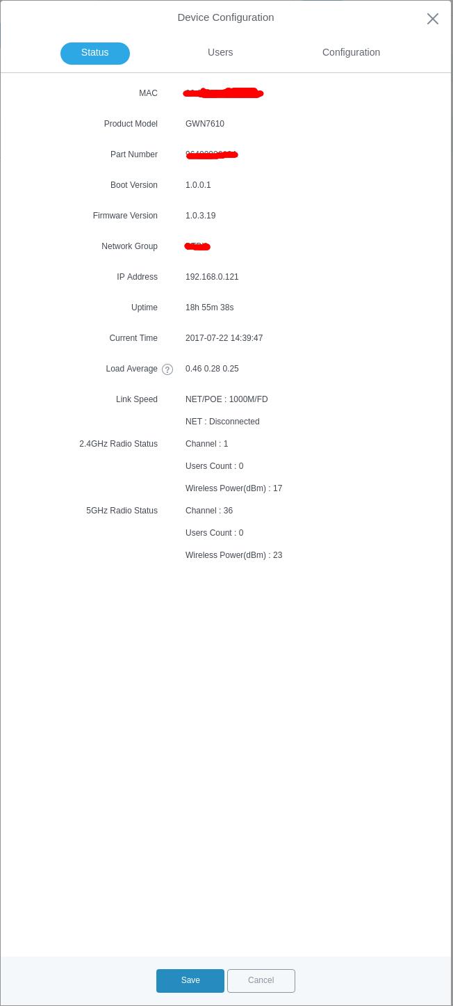Обзор на wifi точки доступа Grandstream GWN7610 - 23