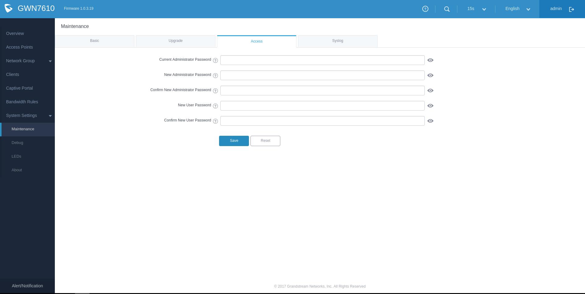 Обзор на wifi точки доступа Grandstream GWN7610 - 8