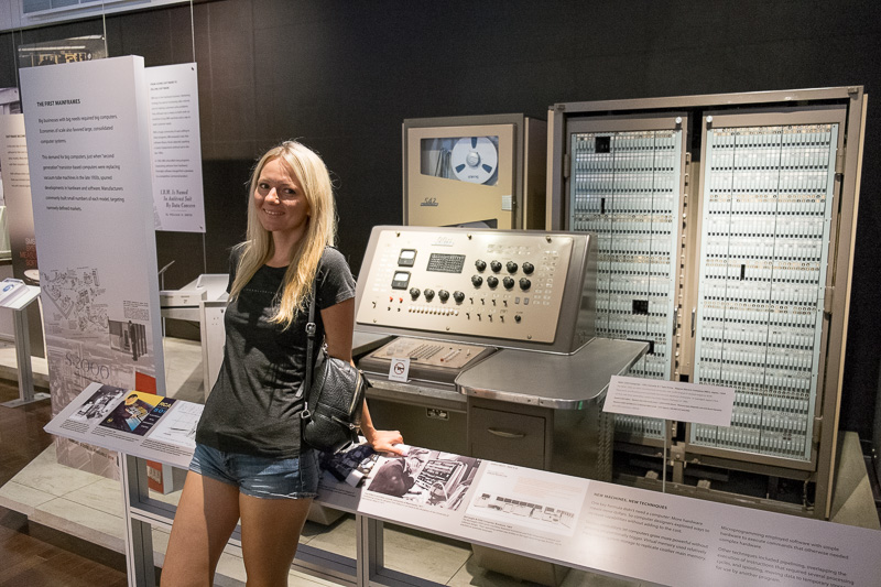 Экскурсия по Музею Истории Компьютеров в Калифорнии, с пользой для разработки. Часть 1. ENIAC, Stretch, CDC6600, IBM-360 - 10
