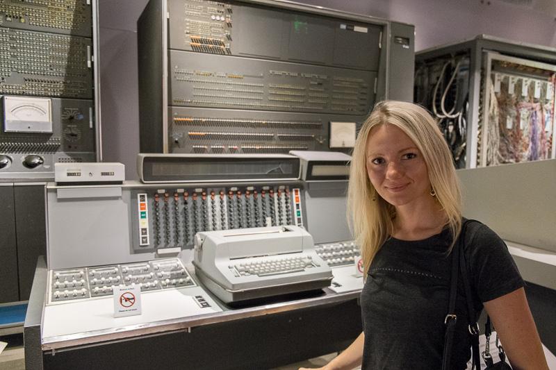 Экскурсия по Музею Истории Компьютеров в Калифорнии, с пользой для разработки. Часть 1. ENIAC, Stretch, CDC6600, IBM-360 - 2