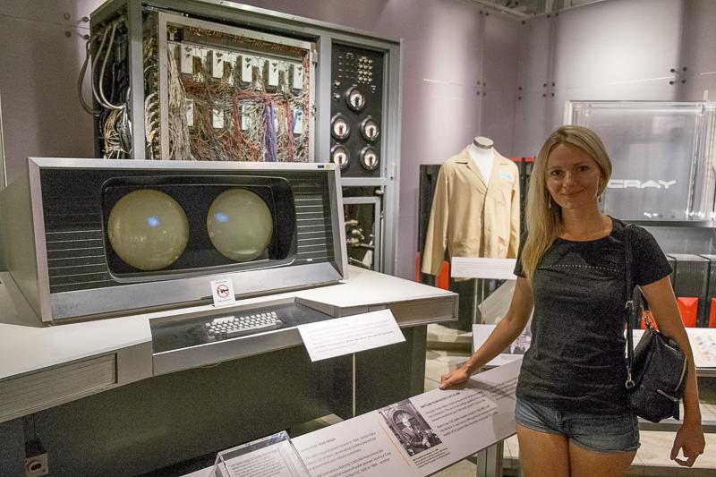 Экскурсия по Музею Истории Компьютеров в Калифорнии, с пользой для разработки. Часть 1. ENIAC, Stretch, CDC6600, IBM-360 - 3