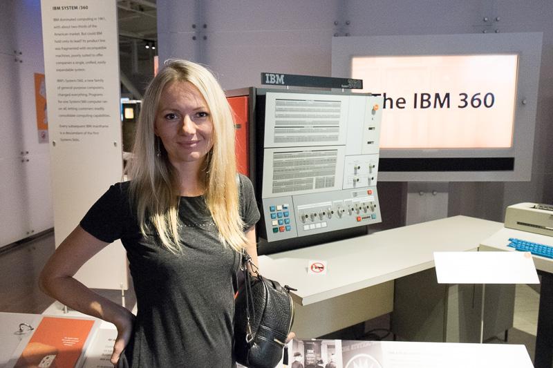 Экскурсия по Музею Истории Компьютеров в Калифорнии, с пользой для разработки. Часть 1. ENIAC, Stretch, CDC6600, IBM-360 - 5