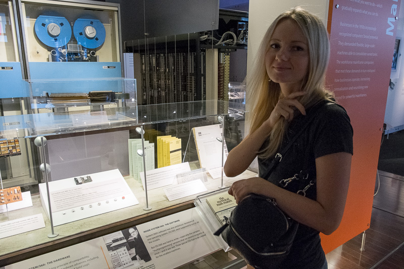 Экскурсия по Музею Истории Компьютеров в Калифорнии, с пользой для разработки. Часть 1. ENIAC, Stretch, CDC6600, IBM-360 - 6
