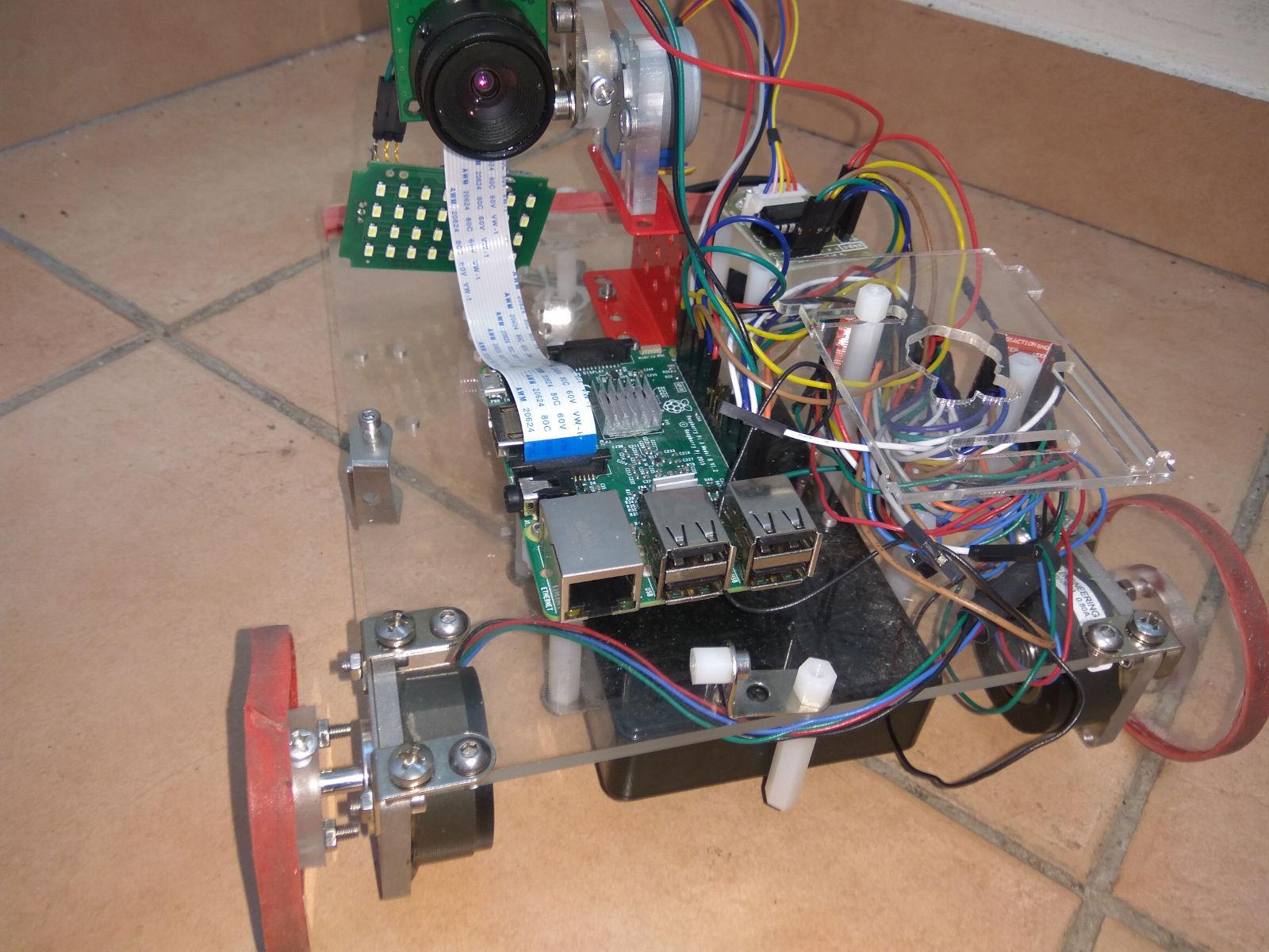 Ориентация мобильного робота, выбор способа регистрации особых точек изображений - 1