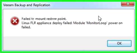 Разбор кейса с восстановлением файлов гостевой ОС в Veeam Backup & Replication - 2