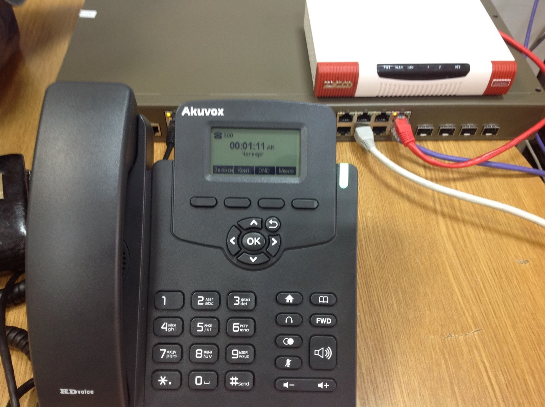 Опыт поднятия IP телефонии в отеле - 1