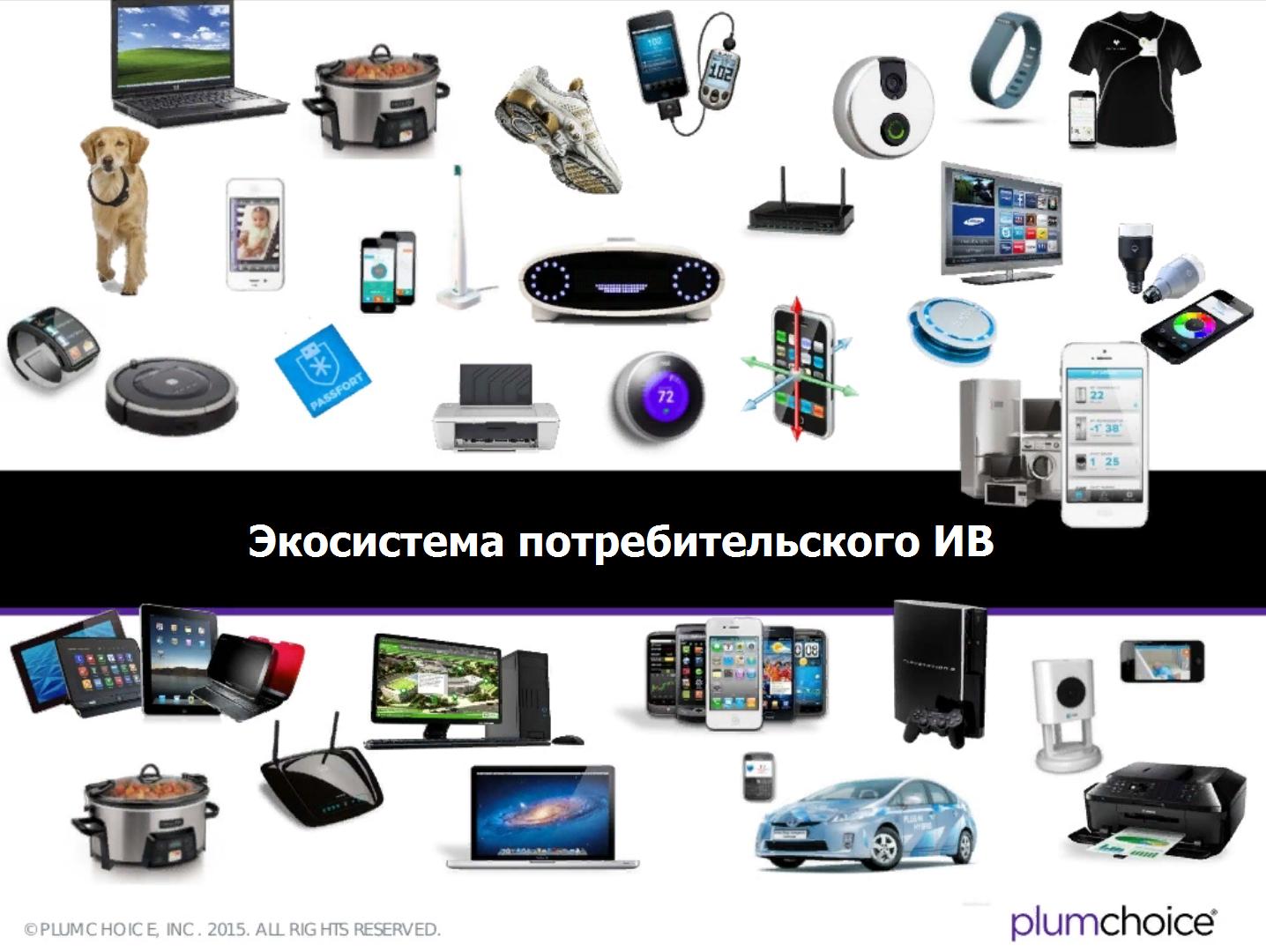 Экосистема потребительского интернета вещей