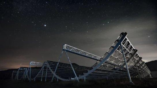 Завершена разработка «беспрецедентного» радиотелескопа CHIME