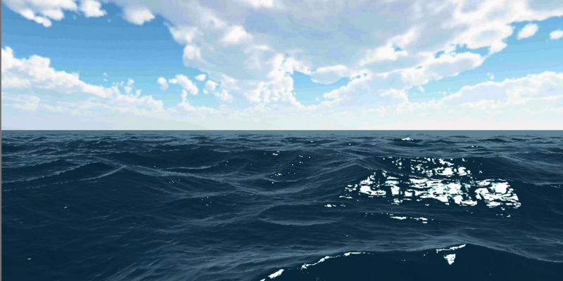 Быстрый рендеринг океанских волн на мобильных устройствах - 1