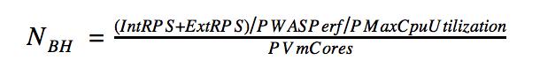 Как оптимально рассчитать объем «железа»: сайзинг-модель ЕФС - 12