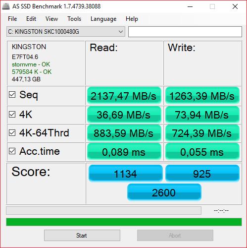 Kingston KC1000 NVMe SSD – мастер спринтов - 12