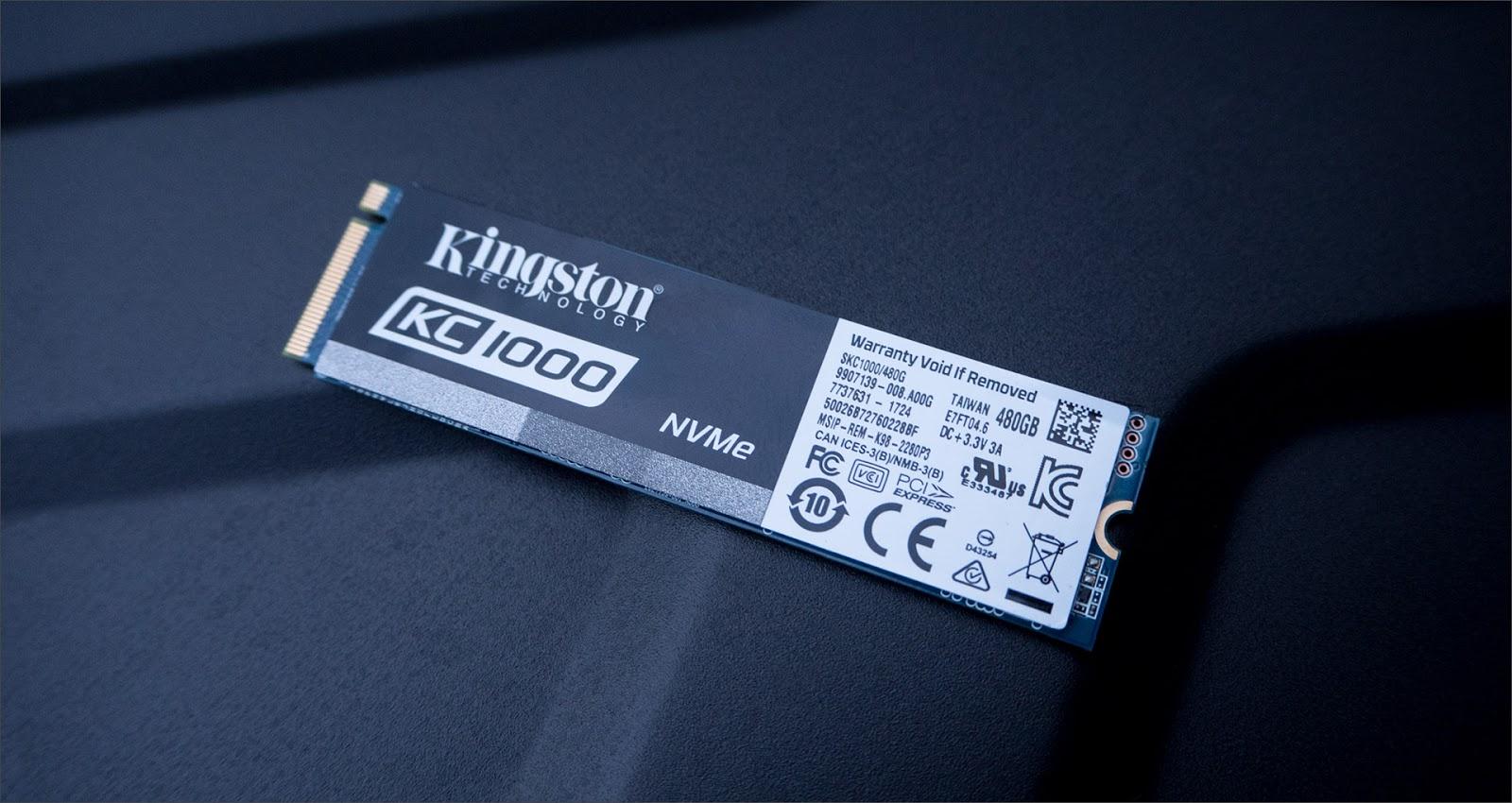 Kingston KC1000 NVMe SSD – мастер спринтов - 14
