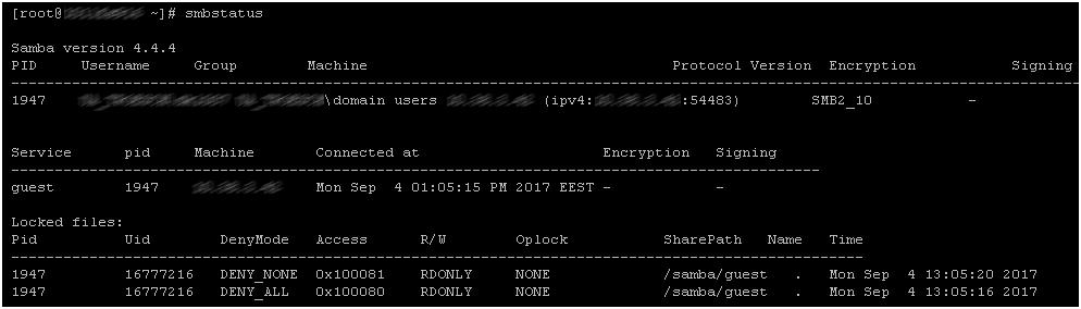 Файловый сервер SAMBA на базе Linux CentOS 7 - 8