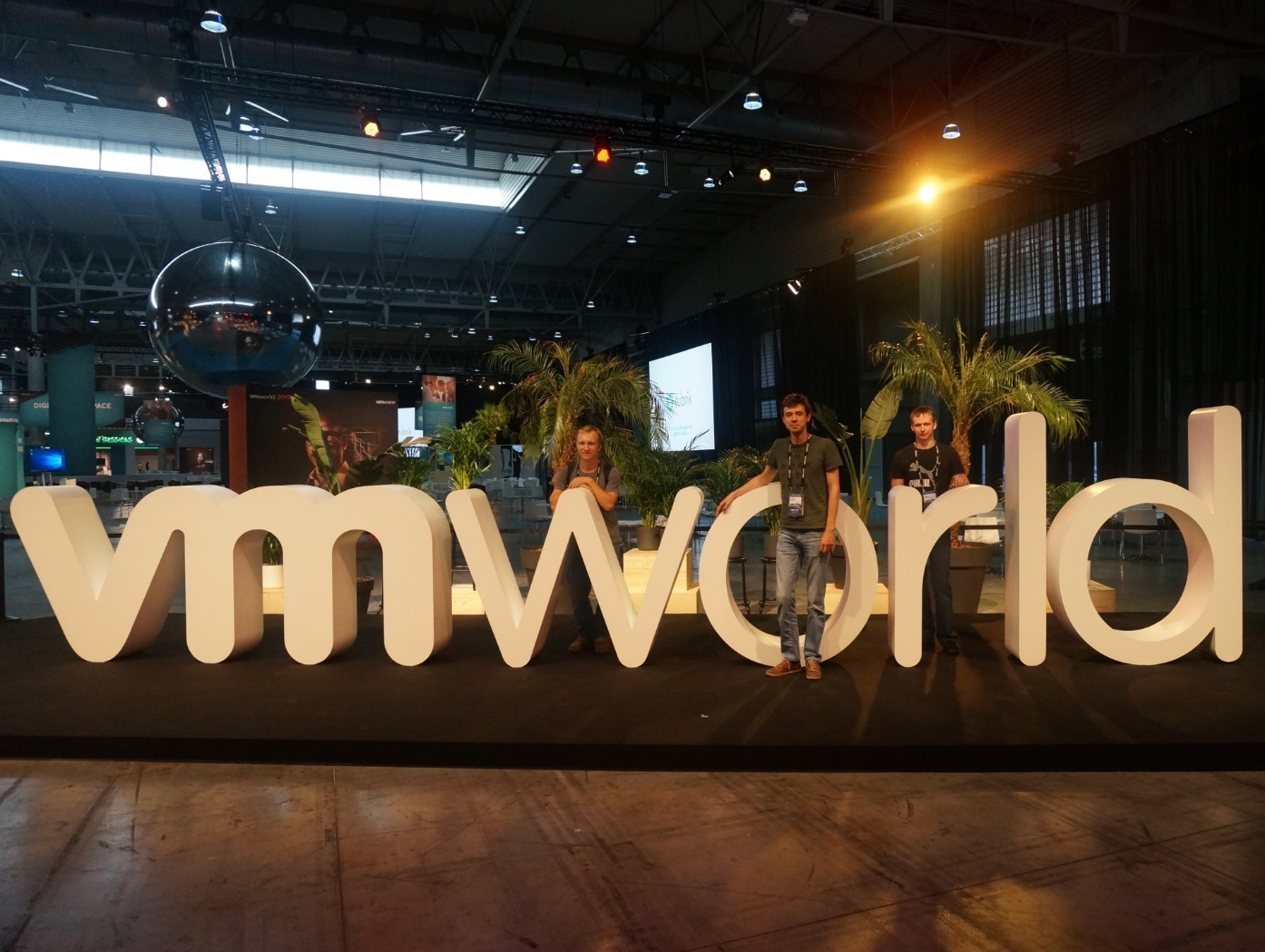 Конференция VMworld 2017 Europe. День 0 - 1