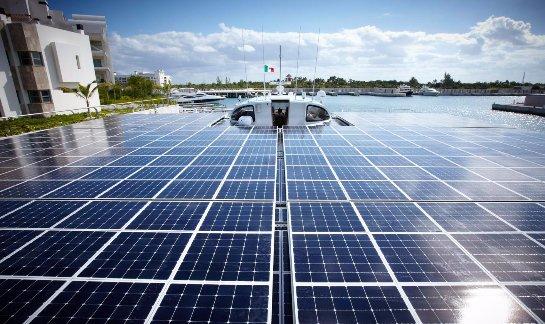 Китай будет массово изготовлять солнечные панели