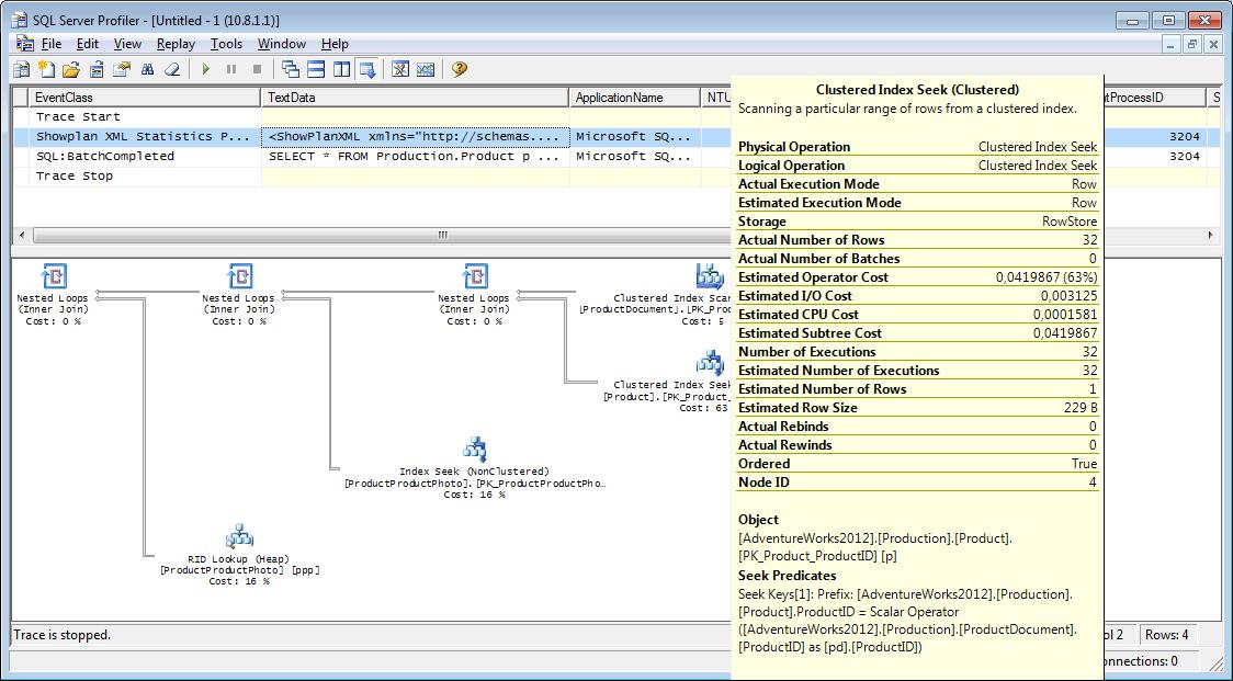 Анализ работы MS SQL Server, для тех кто видит его впервые (часть 2) - 6