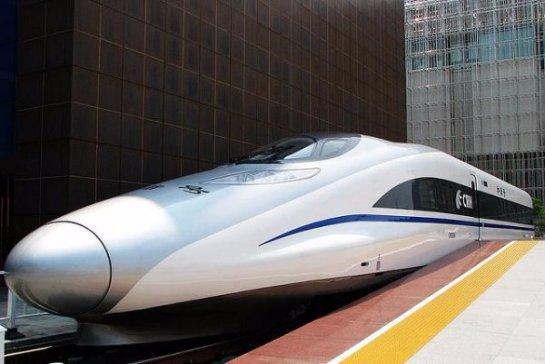 Китайский скорый поезд может обогнать даже самолет
