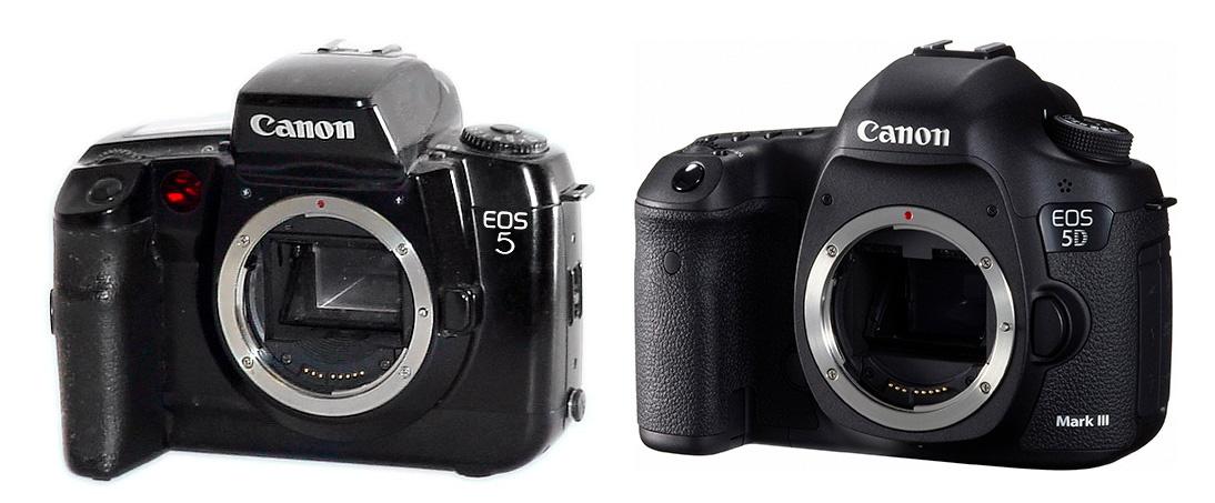 Сравнение двух камер Canon EOS 5 и Canon EOS 5D mark III