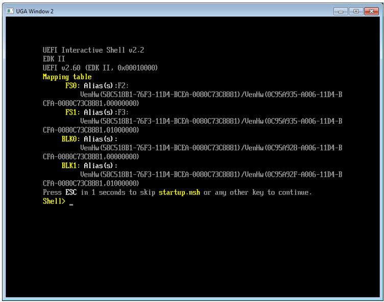 Пишем для UEFI BIOS в Visual Studio. Часть 1 — разворачивание среды разработки, компиляция и запуск на отладку - 10