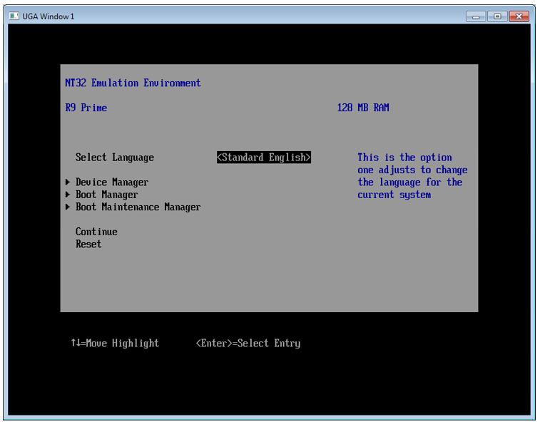 Пишем для UEFI BIOS в Visual Studio. Часть 1 — разворачивание среды разработки, компиляция и запуск на отладку - 11
