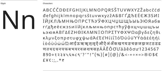 Великолепная подборка бесплатных шрифтов: лучшие из лучших - 18