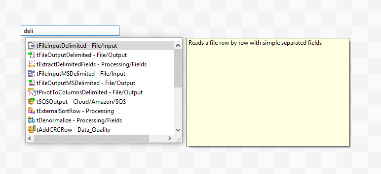 Работа c Talend Open Studio на примере парсинга CSV файла - 4
