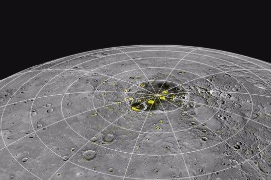 Меркурий оказался наполнен льдом