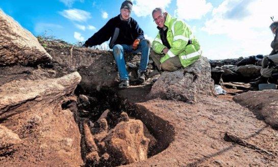 На острове Шапель Дом Хью нашли могилы животных
