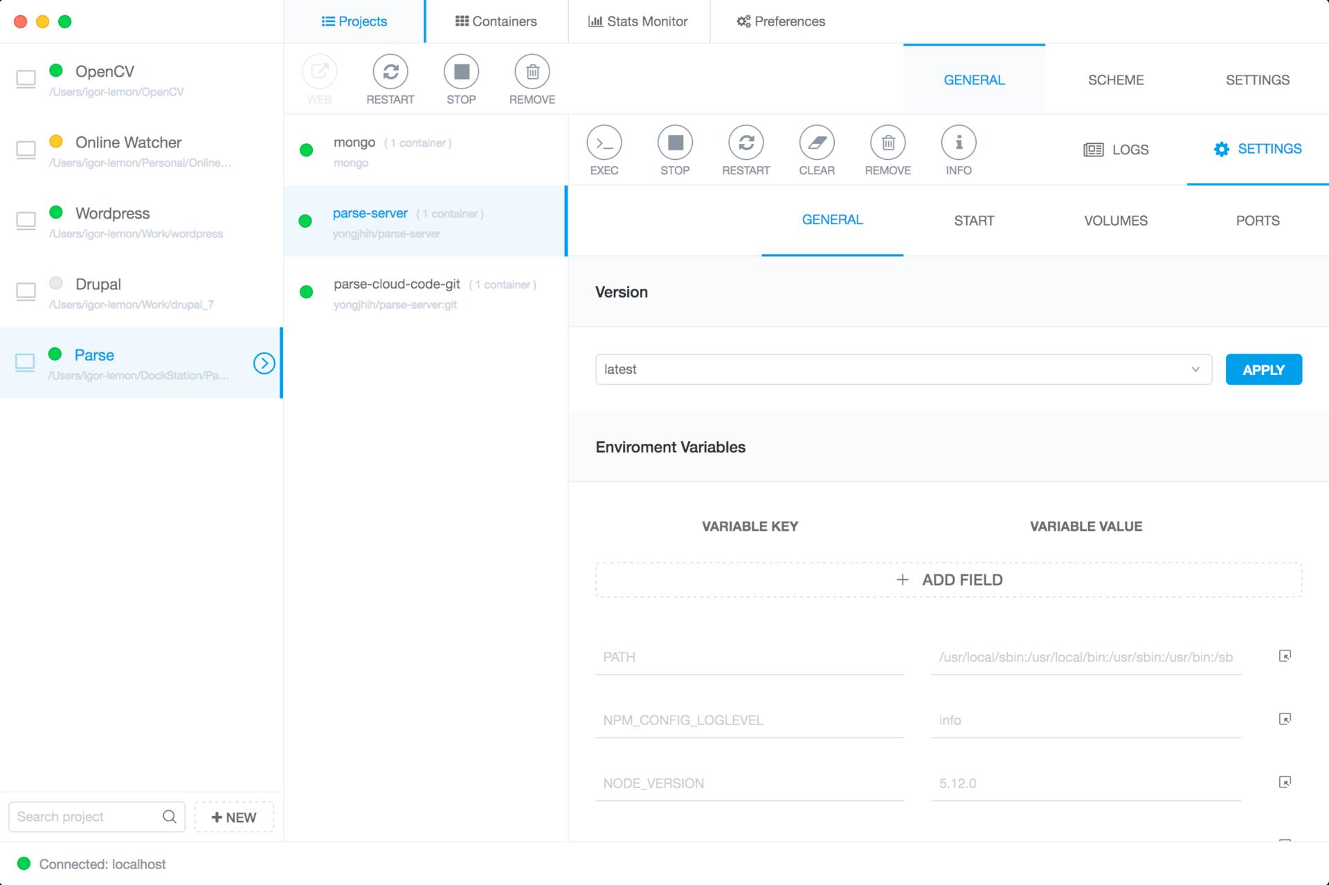 Обзор GUI-интерфейсов для управления Docker-контейнерами - 5