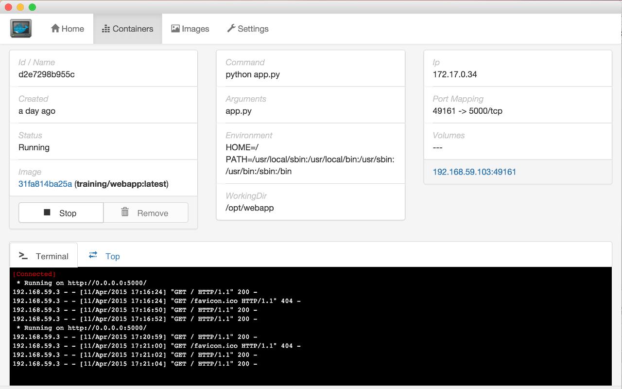 Обзор GUI-интерфейсов для управления Docker-контейнерами - 6