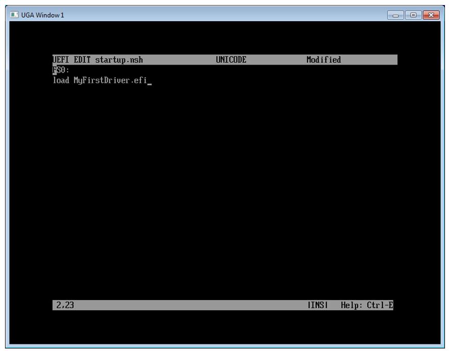 Пишем для UEFI BIOS в Visual Studio. Часть 2 – создаем свой первый драйвер и ускоряем отладку - 11