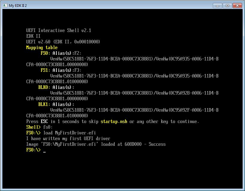 Пишем для UEFI BIOS в Visual Studio. Часть 2 – создаем свой первый драйвер и ускоряем отладку - 6
