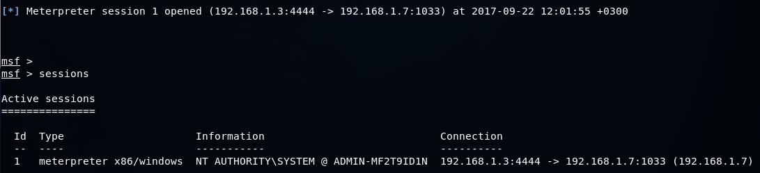Автоматизируем тестирование на проникновение с apt2 - 10