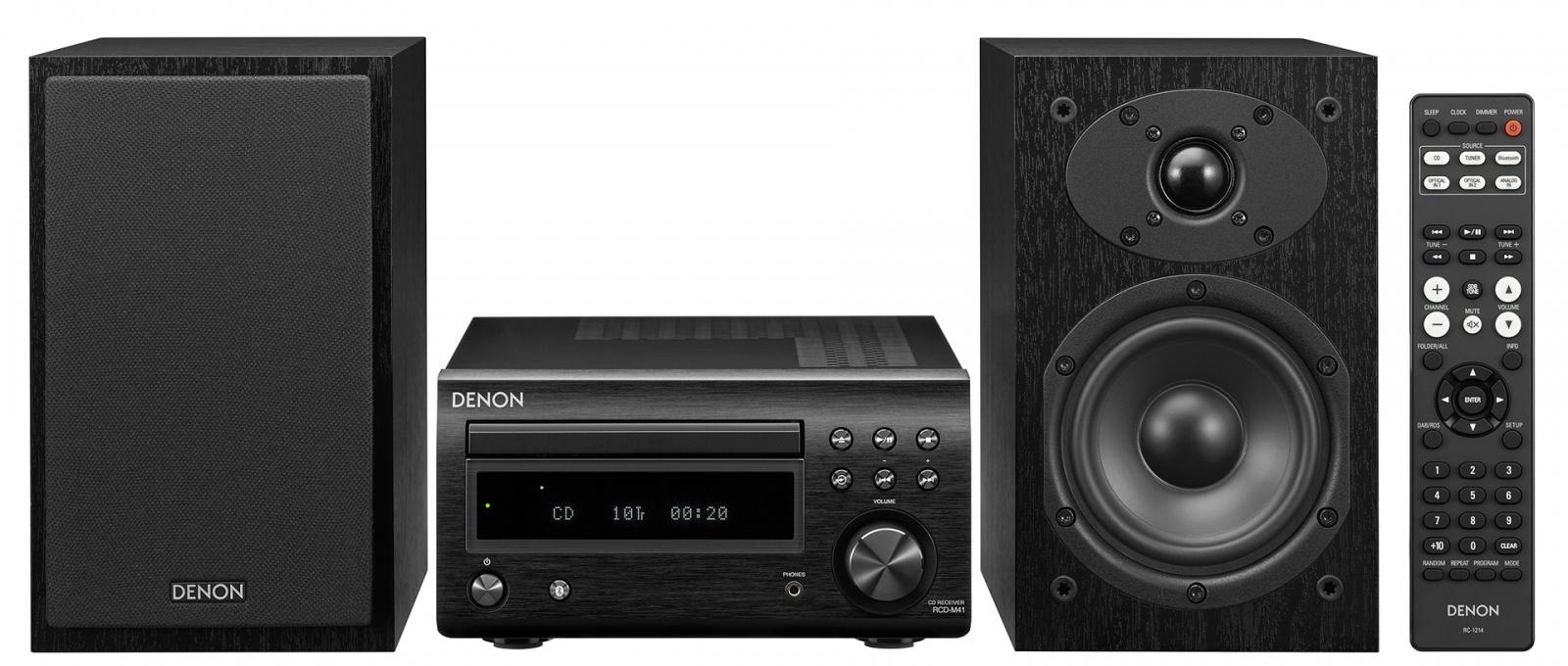 Мини-система Denon D-M41: возвращение к концепции музыкального центра, Hi-Fi для среднего класса - 1