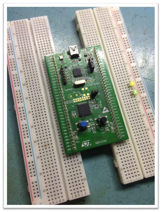 Начинаем изучать STM32 или Управляем светом по-умному - 3