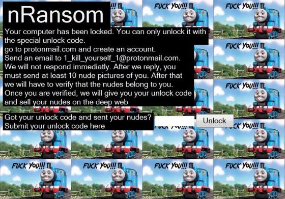 Криптолокер nRansom вымогает обнажённые фотки - 1