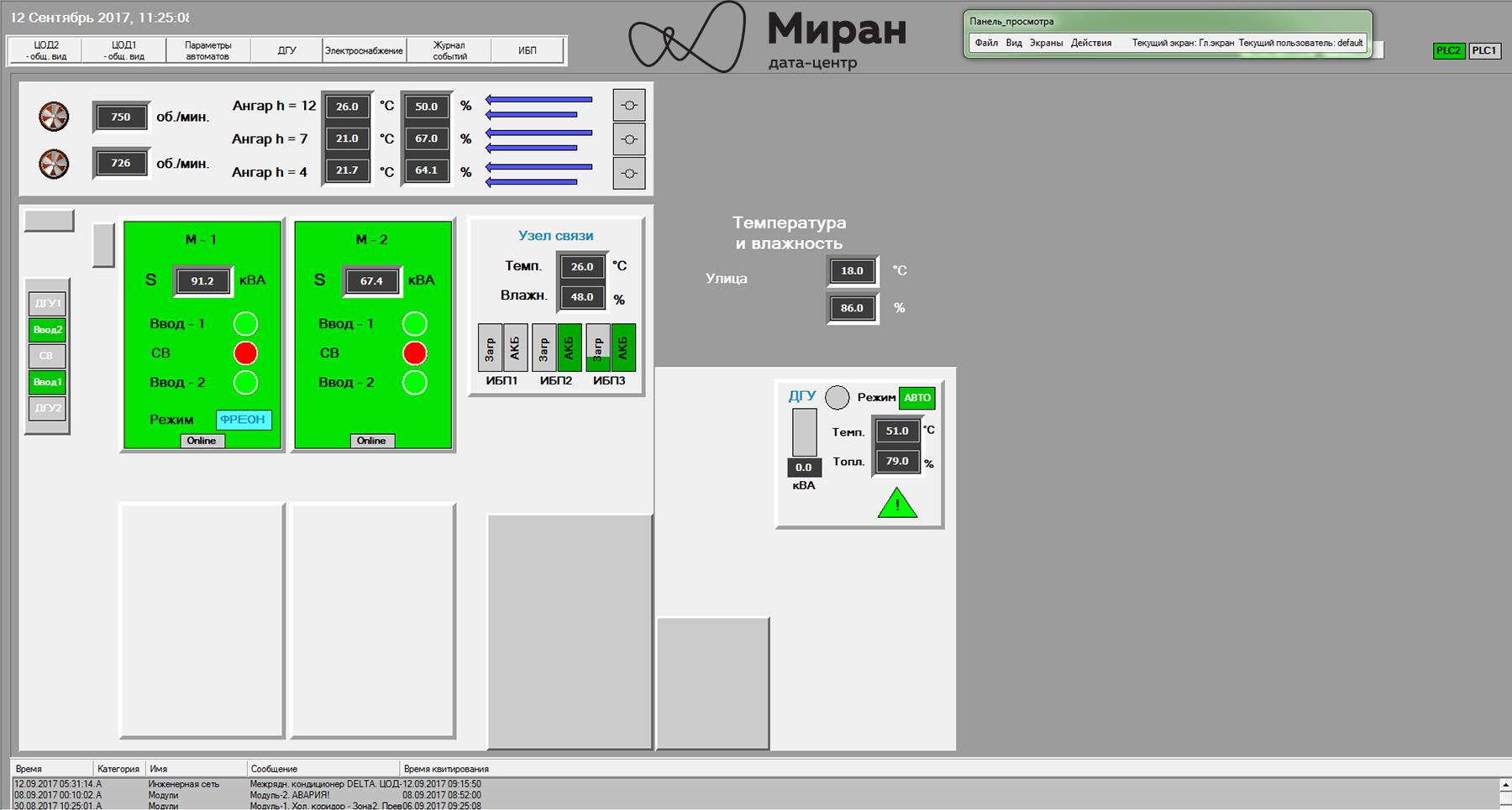 Инженерные системы наших дата-центров и их мониторинг, часть вторая - 6