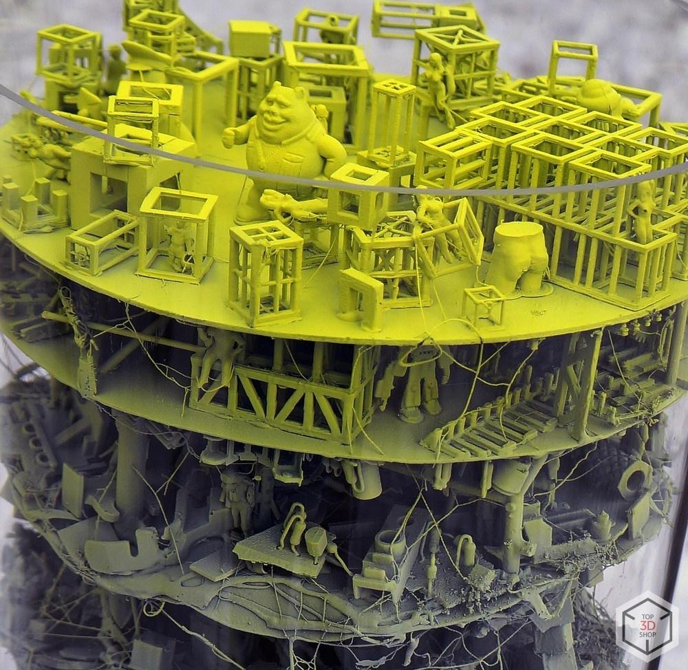 [КЕЙС] 3D-печать в искусстве: скульптуры художника Каварги - 11