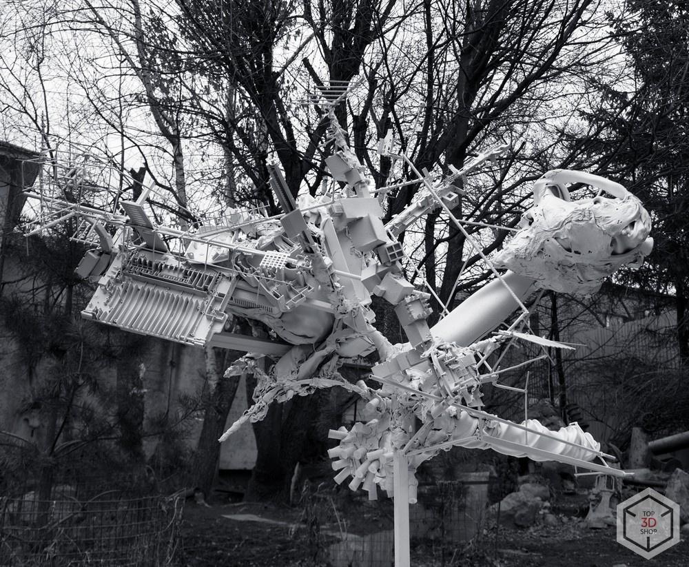 [КЕЙС] 3D-печать в искусстве: скульптуры художника Каварги - 12