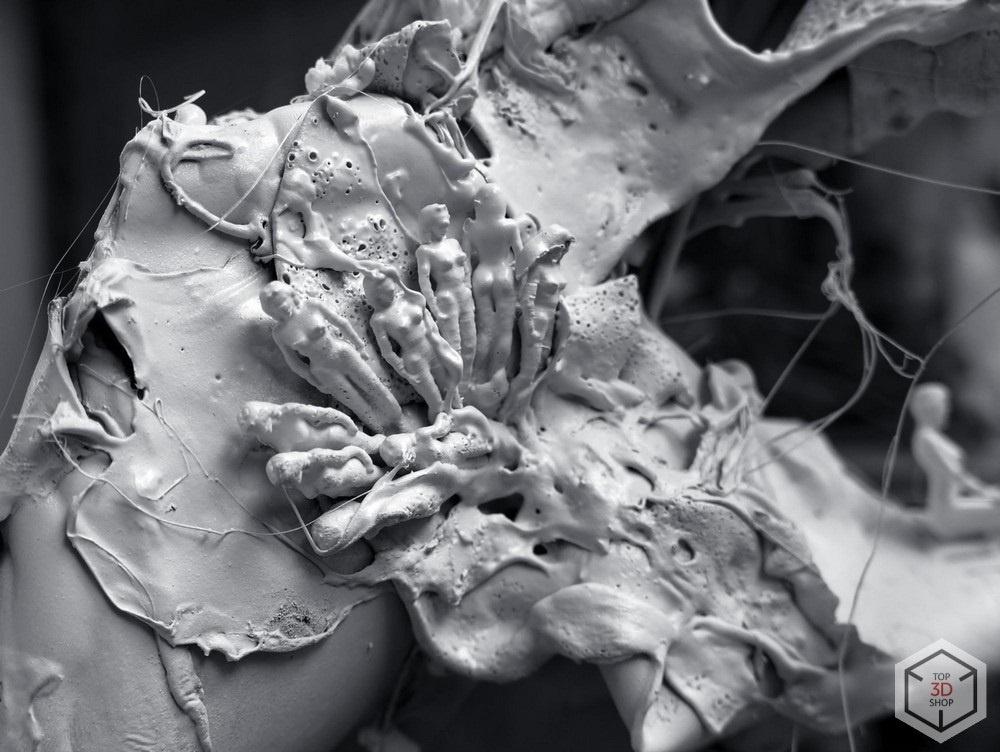 [КЕЙС] 3D-печать в искусстве: скульптуры художника Каварги - 13