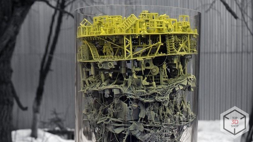 [КЕЙС] 3D-печать в искусстве: скульптуры художника Каварги - 2