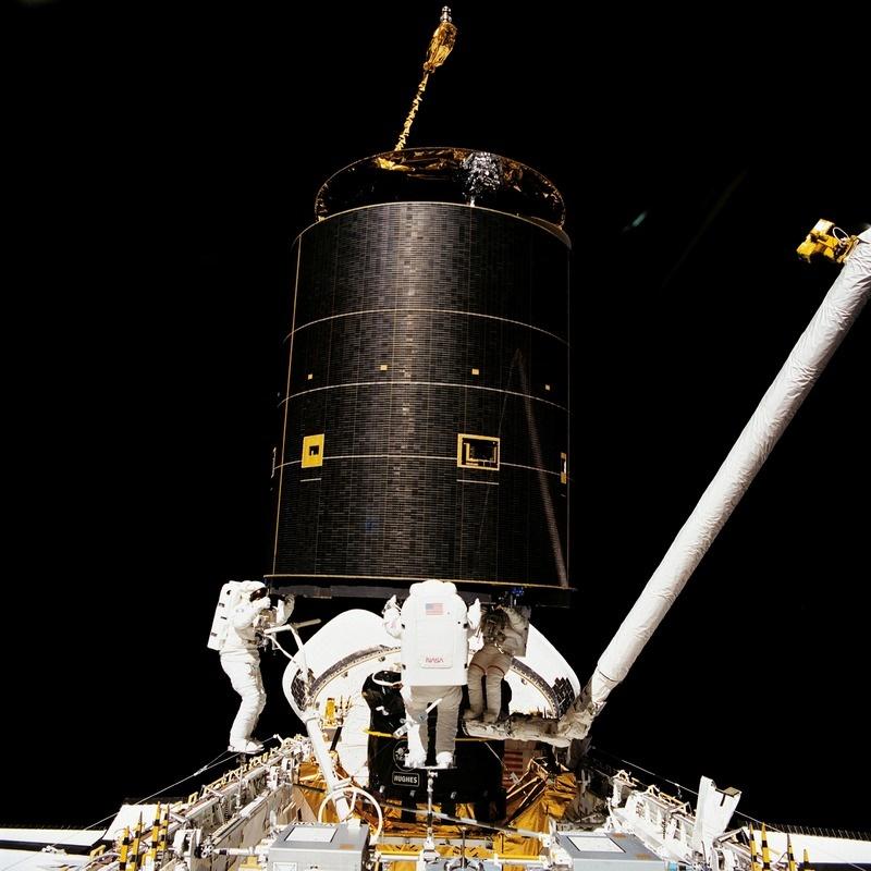 Прошлое и будущее обслуживания спутников - 10