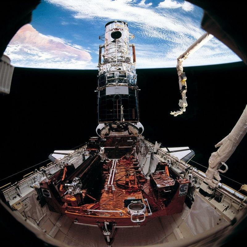 Прошлое и будущее обслуживания спутников - 13