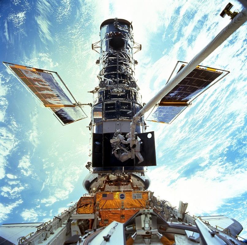 Прошлое и будущее обслуживания спутников - 17