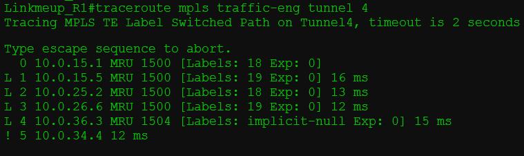 Сети для самых матёрых. Часть тринадцатая. MPLS Traffic Engineering - 10