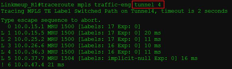 Сети для самых матёрых. Часть тринадцатая. MPLS Traffic Engineering - 25