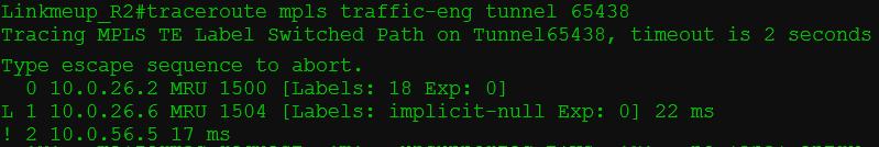 Сети для самых матёрых. Часть тринадцатая. MPLS Traffic Engineering - 56