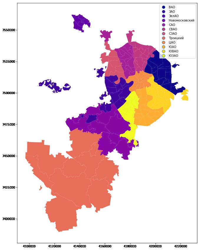 Визуализация результатов выборов в Москве на карте в Jupyter Notebook - 4