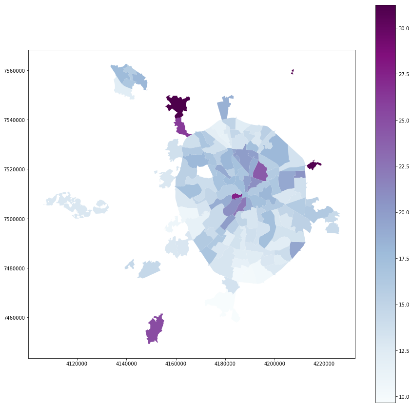 Визуализация результатов выборов в Москве на карте в Jupyter Notebook - 7