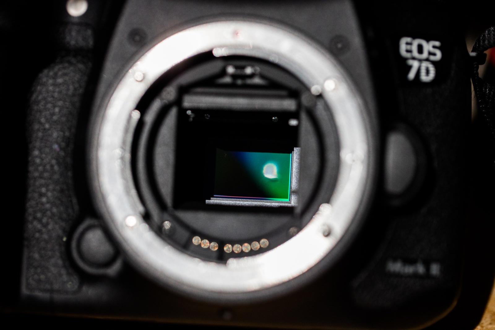 Прокатное фотографическое оборудование, повреждённое солнечным затмением - 5